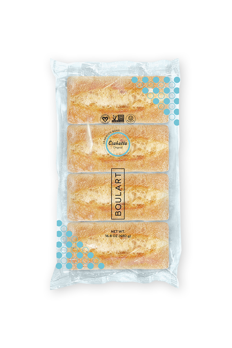 Fully Sealed Bread - Wrapped Original Sandwich Buns